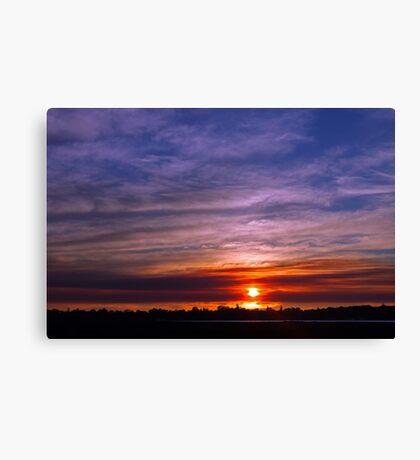 Applecross Sunset  Canvas Print