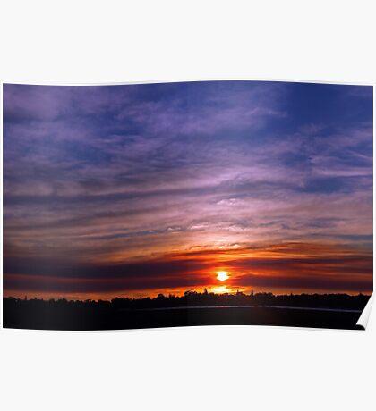 Applecross Sunset  Poster
