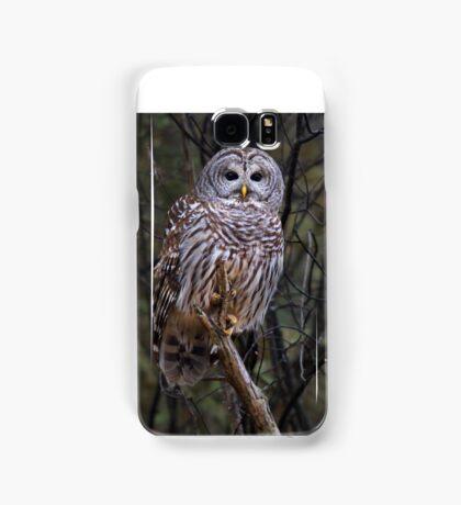 Barred Owl Samsung Galaxy Case/Skin