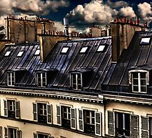 Building In Paris Fine Art Print by stockfineart