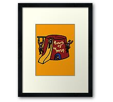 Property of The Doctor Framed Print