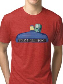 BMO Meet TARDIS Tri-blend T-Shirt