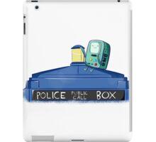 BMO Meet TARDIS iPad Case/Skin