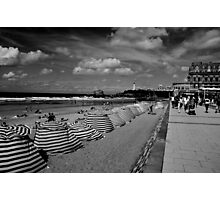 Biarritz, la Grande plage Photographic Print