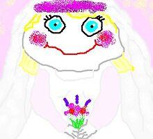 The Blushing Bride by CynnLove