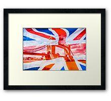 Aggrandization Vol. II @londonlights Framed Print
