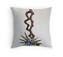Ikebana-133 Throw Pillow
