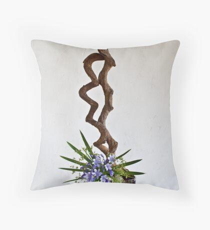 Ikebana-133 Throw Pillow