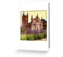 Church Ruins Greeting Card