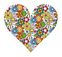 Heart full of Flowers! by cstroeh