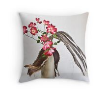 Ikebana-126 Throw Pillow