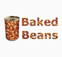 Baked Beans Can One Piece - Short Sleeve