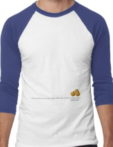 Tea & Oranges Men's Baseball ¾ T-Shirt