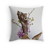 Ikebana-123 Throw Pillow