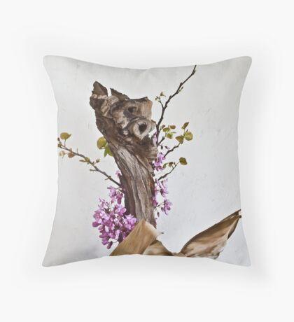 Ikebana-123 Throw Pillow