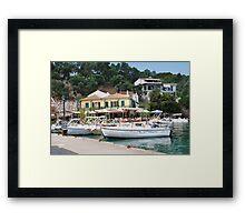 Lakka harbour, Paxos Framed Print