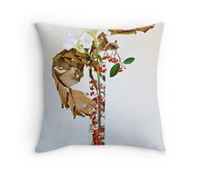 Ikebana-122 Throw Pillow