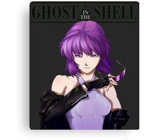 Ghost in The Shell anime shirt Canvas Print