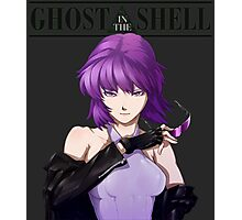 Ghost in The Shell anime shirt Photographic Print