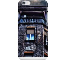 Ruined Residential Building Belgrade iPhone Case/Skin