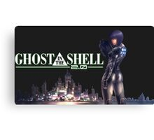 Ghost in The Shell motoko Canvas Print