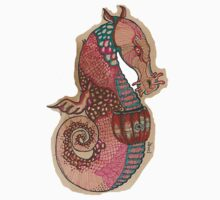 Hairy Nosed Seahorse - By Beatrice Ajayi by Beatrice  Ajayi