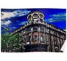 Old Corner Buliding Belgrade Poster