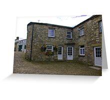 Corner Cottages - Dent,Cumbria. Greeting Card