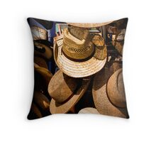 Hats, Hats and More Hats Throw Pillow