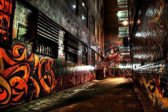 Laneway Moods. by Steve Chapple