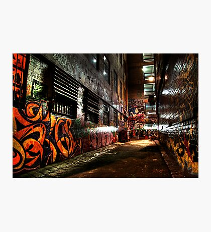 Laneway Moods. Photographic Print