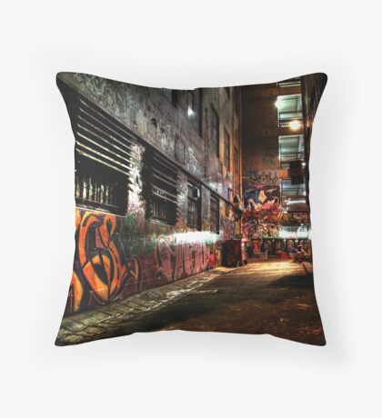 Laneway Moods. Throw Pillow