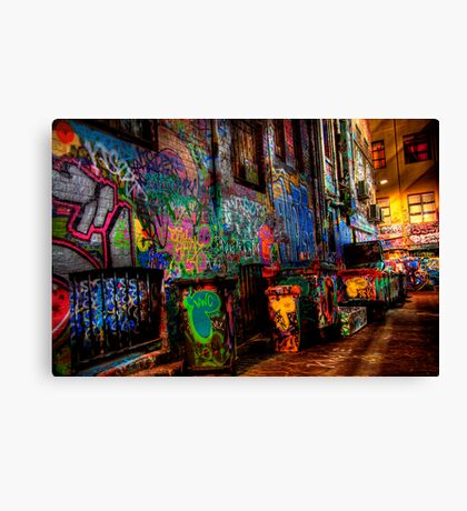 Laneway Moods 2. Canvas Print