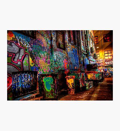 Laneway Moods 2. Photographic Print