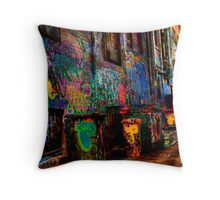 Laneway Moods 2. Throw Pillow