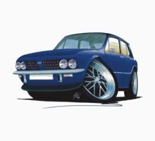 Triumph Dolomite Sprint Blue by Richard Yeomans