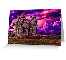 Castle Hill Fine Art Print Greeting Card