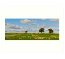Whisps of Air amongst the Strands of Grass (and this is WINTER!) Art Print