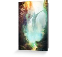 At the Emerald Vale Greeting Card