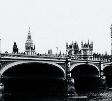 Westminster Bridge by Jeff Blanchard