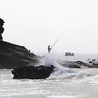 Spanish Fisherman by Jane Smith