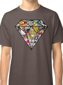 Diamind Sticker bomb- Vintage Classic T-Shirt