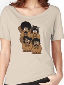 The many faces of... Undercover Beaver! Women's Relaxed Fit T-Shirt