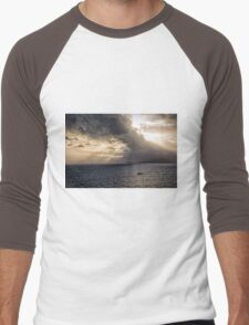 Sunset over Cape Tribulation Men's Baseball ¾ T-Shirt