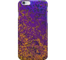 Colorful Corroded Background iPhone Case/Skin