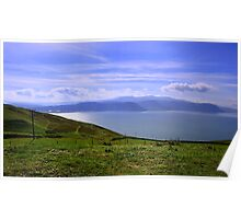 Snowdonia Coast Poster