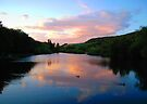 Evening Lake by Svetlana Sewell