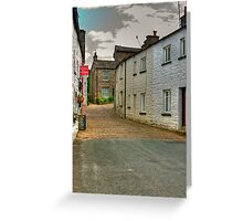 Village Street #2  - Dent Greeting Card