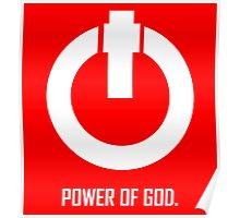 ACTS 8:10  POWER OF GOD Poster