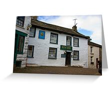 The Sun Inn  - Dent Greeting Card